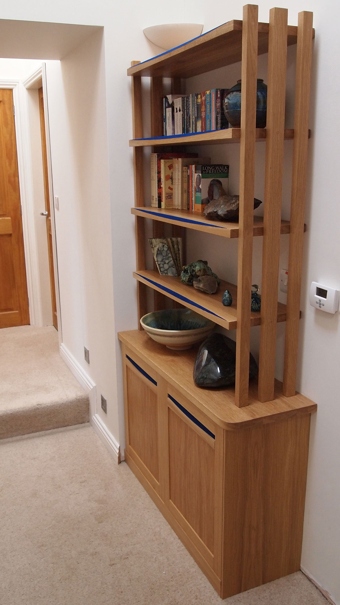 Fitted cabinet/shelves