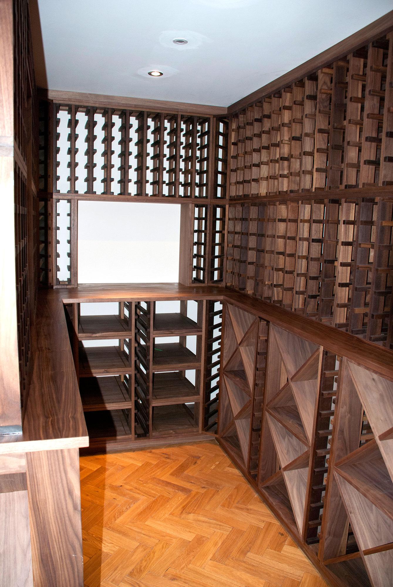 Walnut Wine Cellar