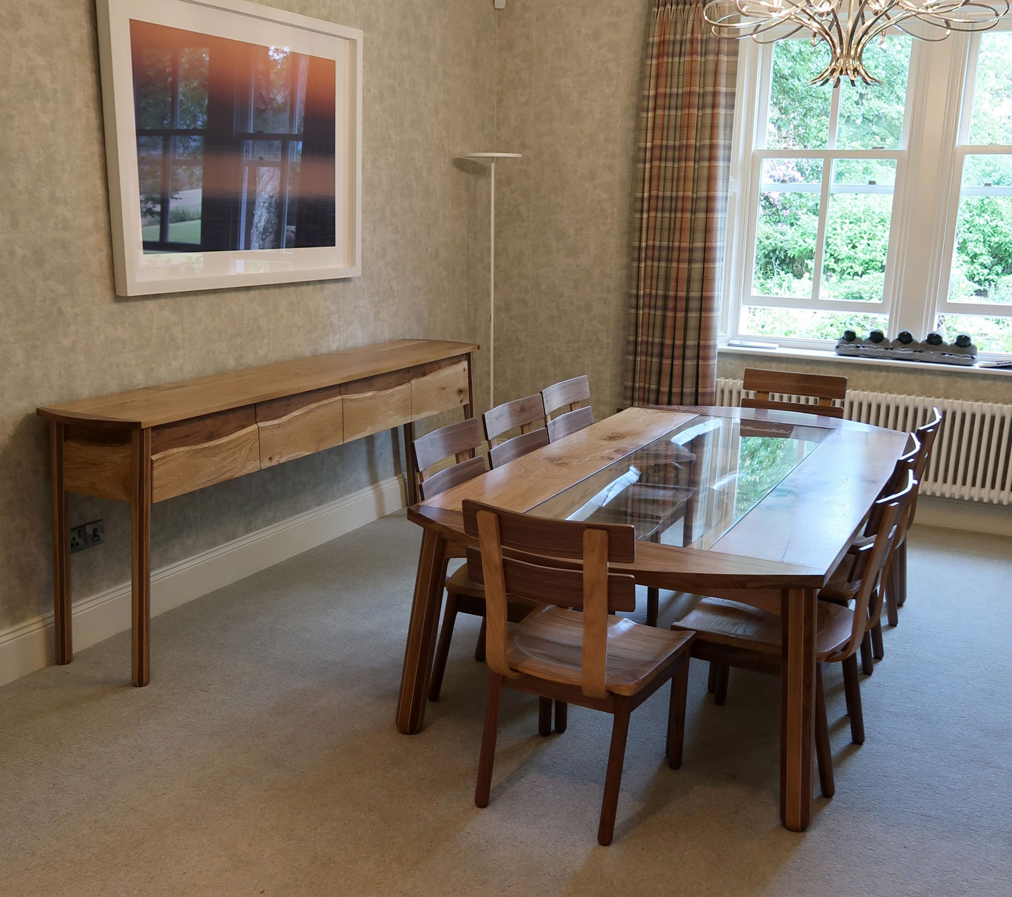 Dining Set - Live Cumbrian Oak