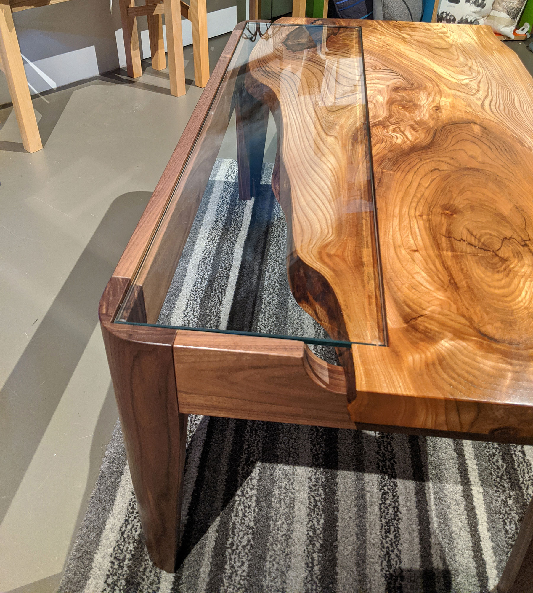 Wych Elm Coffee Table