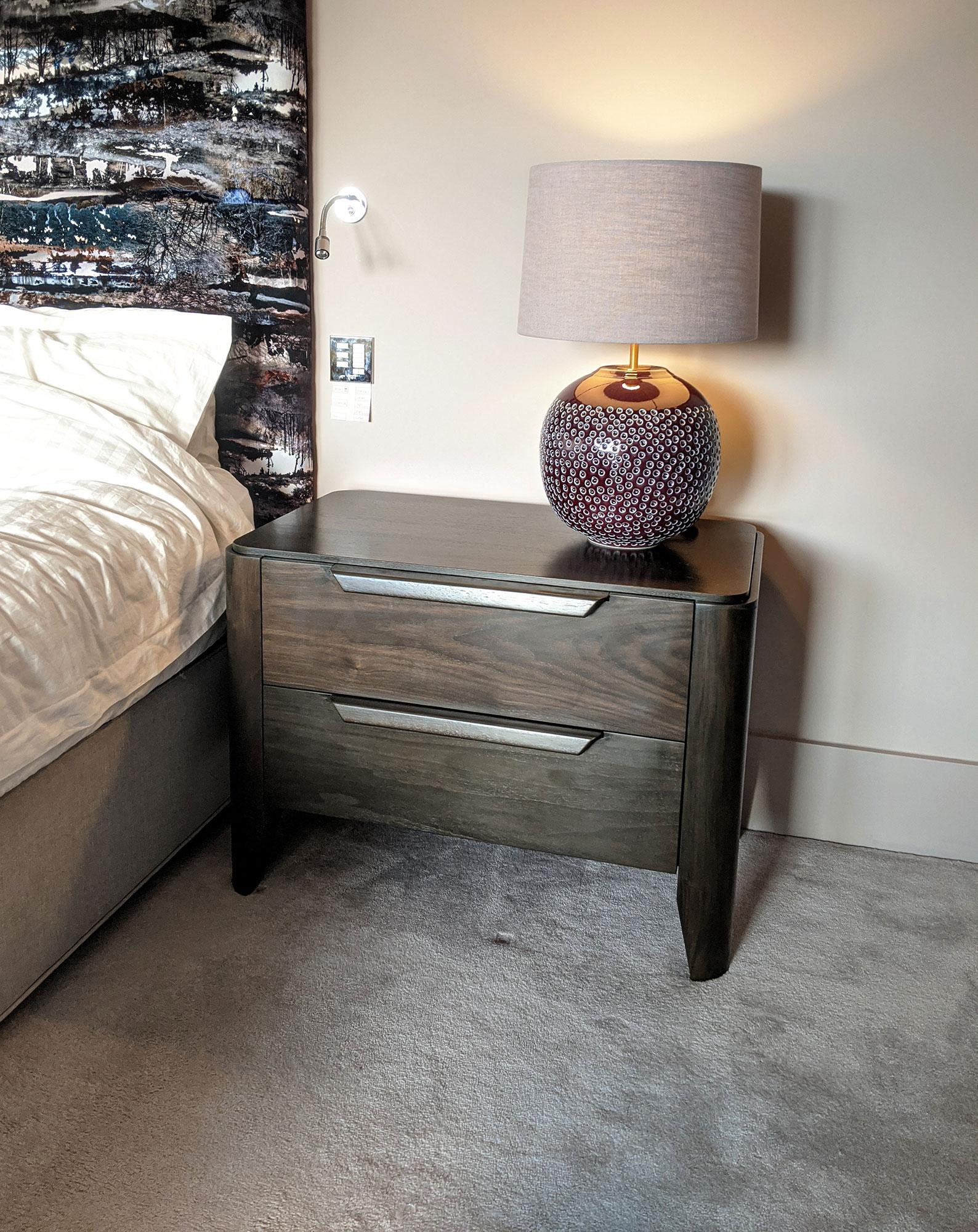 Walnut Bedroom Drawers