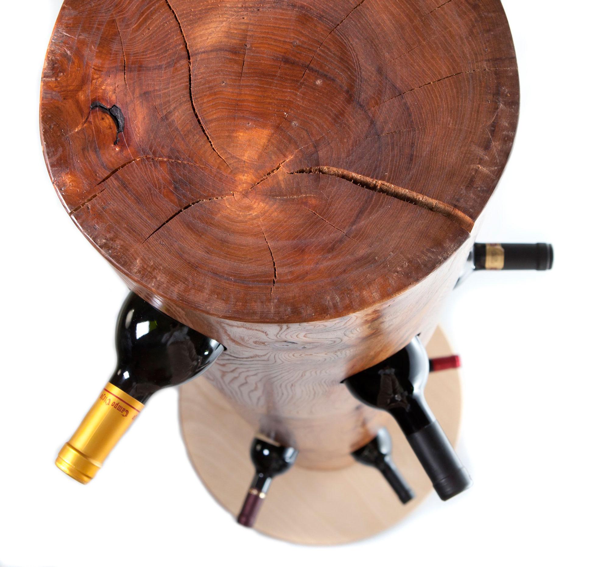 'Totem' Wine Rack