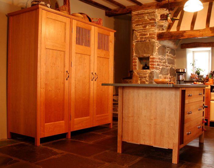 Freestanding Cherry Kitchen