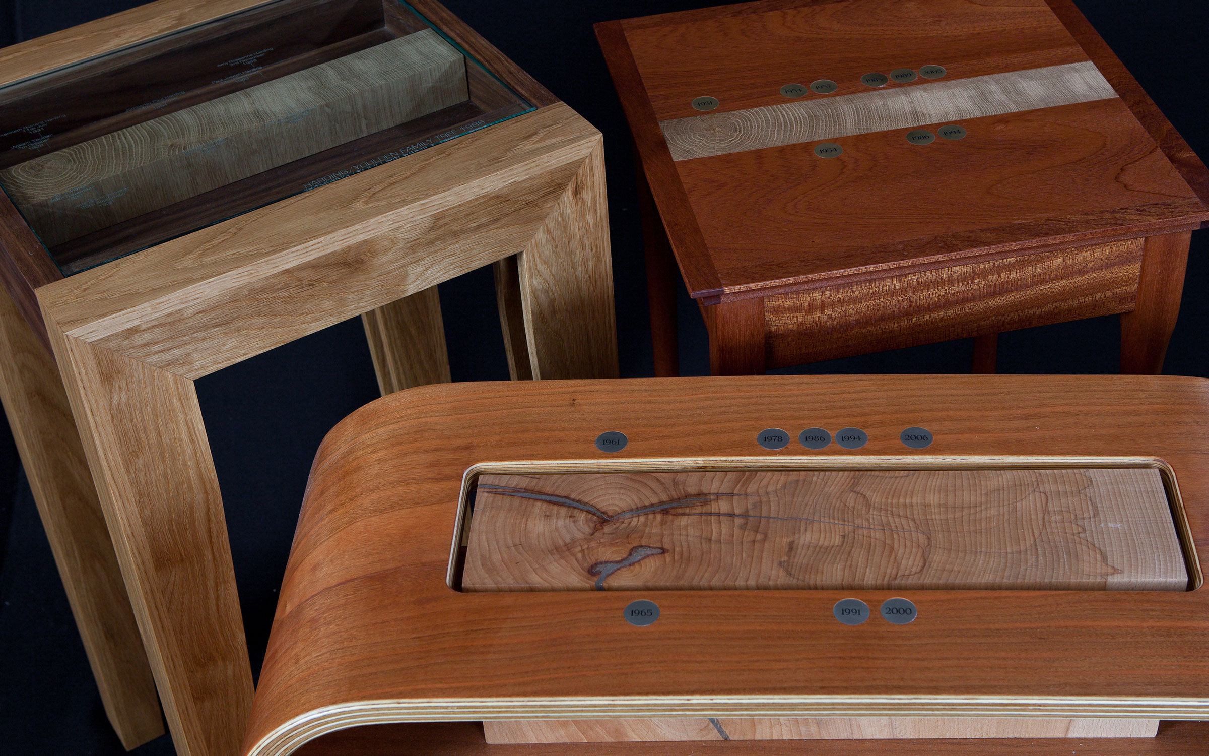 commissioned one-off pieces of hand made bespoke furniture & smaller items by sale